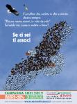 Federcongressi Poster Se ci sei ti associ-Uccelli