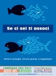 Federcongressi Poster Se ci sei ti associ-Pesci