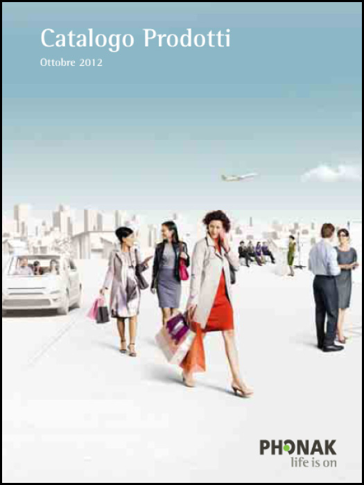 Catalogo prodotti Phonak 2012